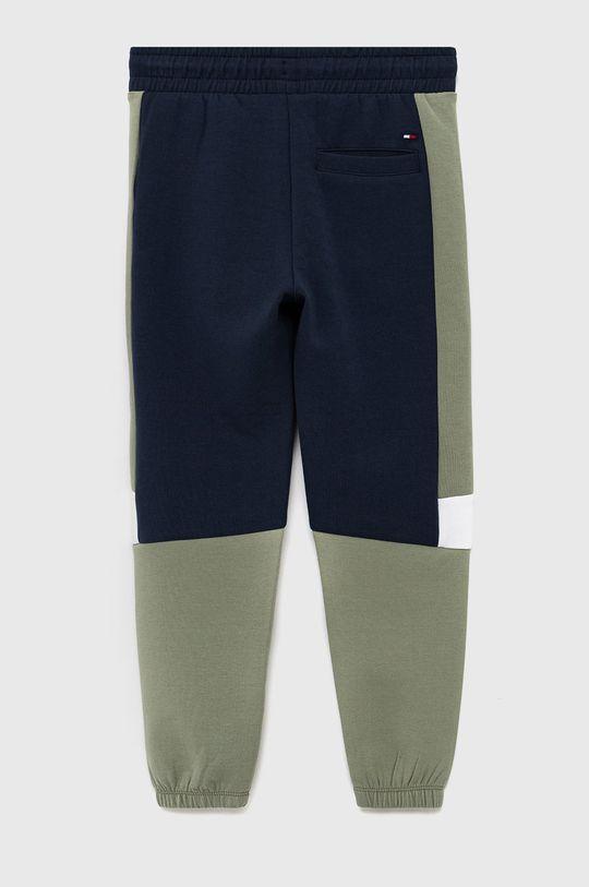 Tommy Hilfiger - Spodnie dziecięce granatowy