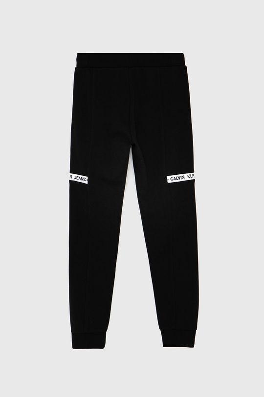 Calvin Klein Jeans - Dětské kalhoty černá