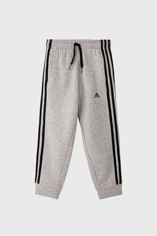 szary adidas - Spodnie dziecięce 104-176 cm Chłopięcy