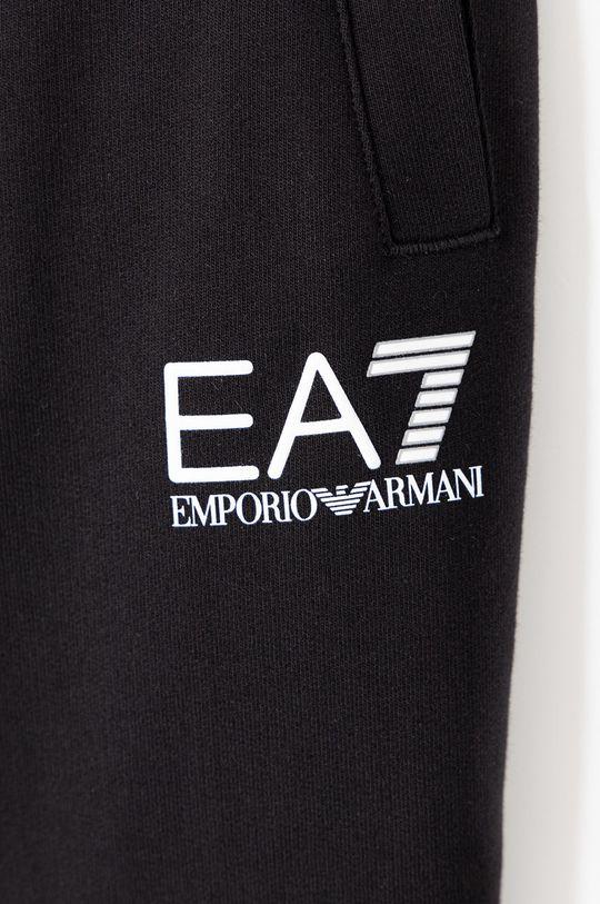 EA7 Emporio Armani - Dětské kalhoty 104-164 cm černá