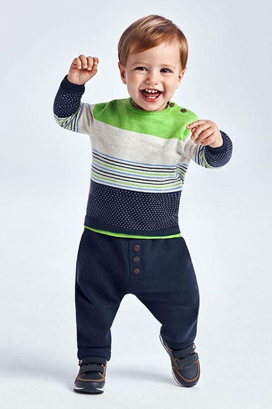 granatowy Mayoral - Spodnie dziecięce Chłopięcy