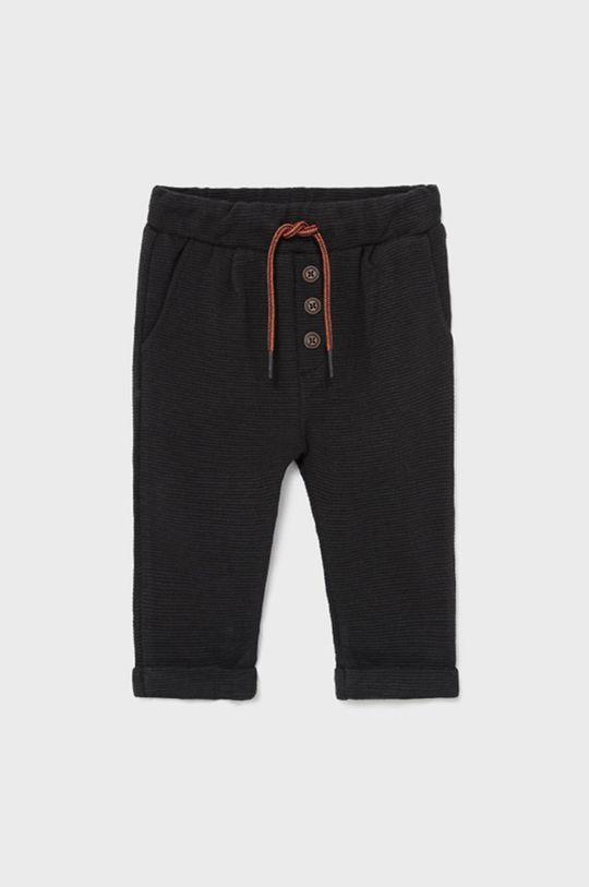 czarny Mayoral - Spodnie dziecięce Chłopięcy