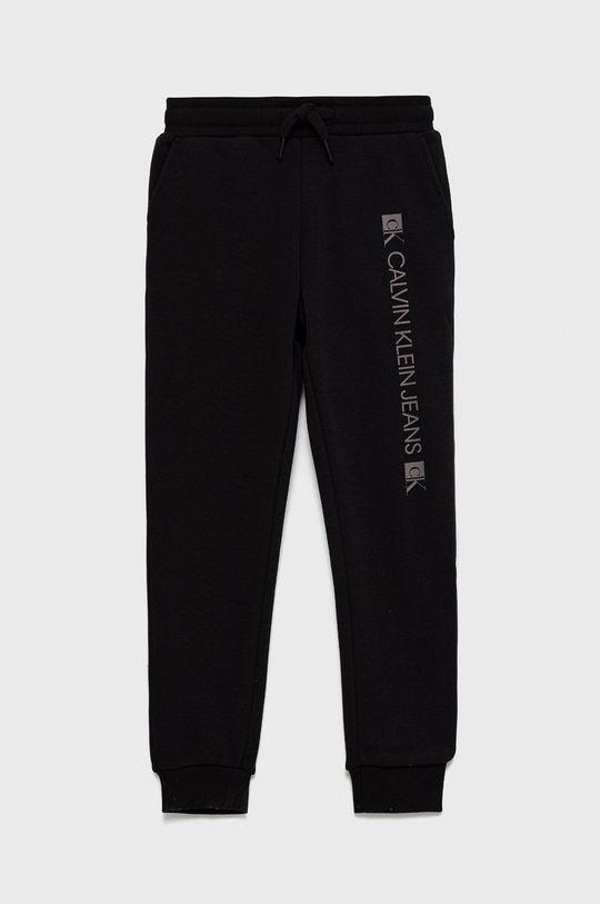 czarny Calvin Klein Jeans - Spodnie dziecięce Chłopięcy