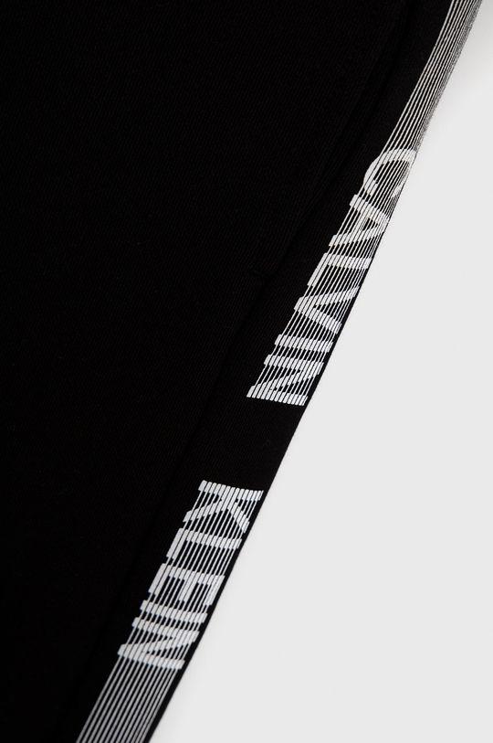 Calvin Klein Jeans - Spodnie bawełniane dziecięce czarny