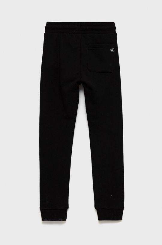 Calvin Klein Jeans - Spodnie bawełniane dziecięce Materiał zasadniczy: 100 % Bawełna, Ściągacz: 97 % Bawełna, 3 % Elastan