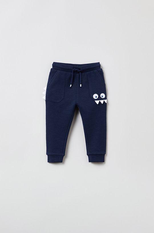 granatowy OVS - Spodnie dziecięce Chłopięcy