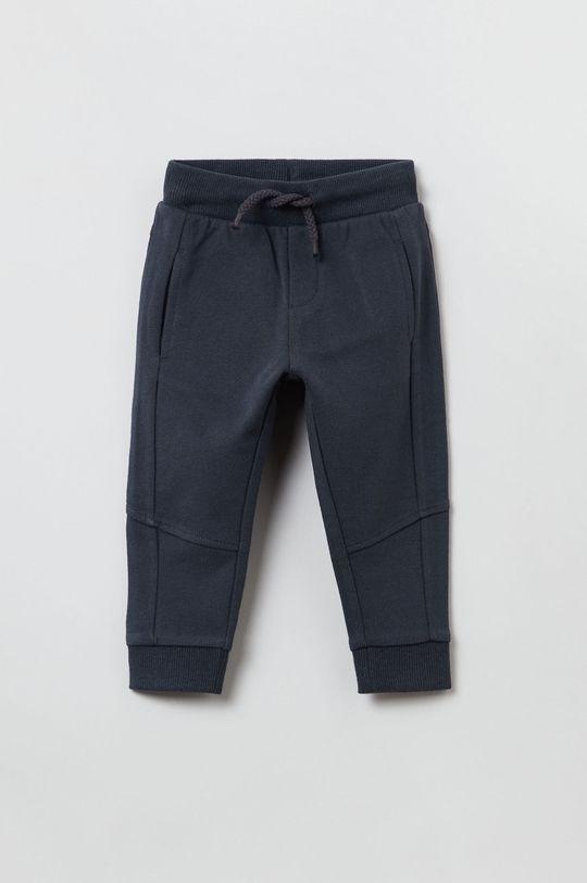 czarny OVS - Spodnie dziecięce Chłopięcy