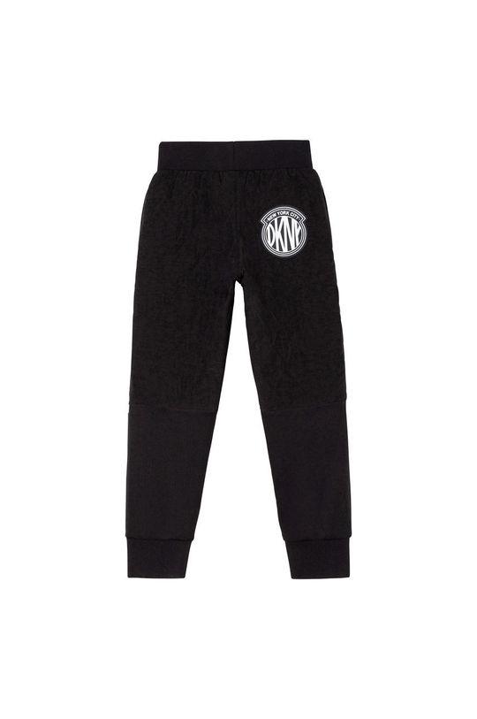 Dkny - Pantaloni copii  Captuseala: 100% Bumbac Umplutura: 100% Poliester  Materialul de baza: 7% Elastan, 43% Poliester , 50% Viscoza Finisaj: 100% Poliamida