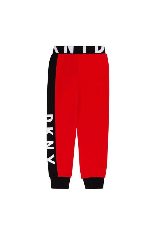 Dkny - Detské nohavice červená