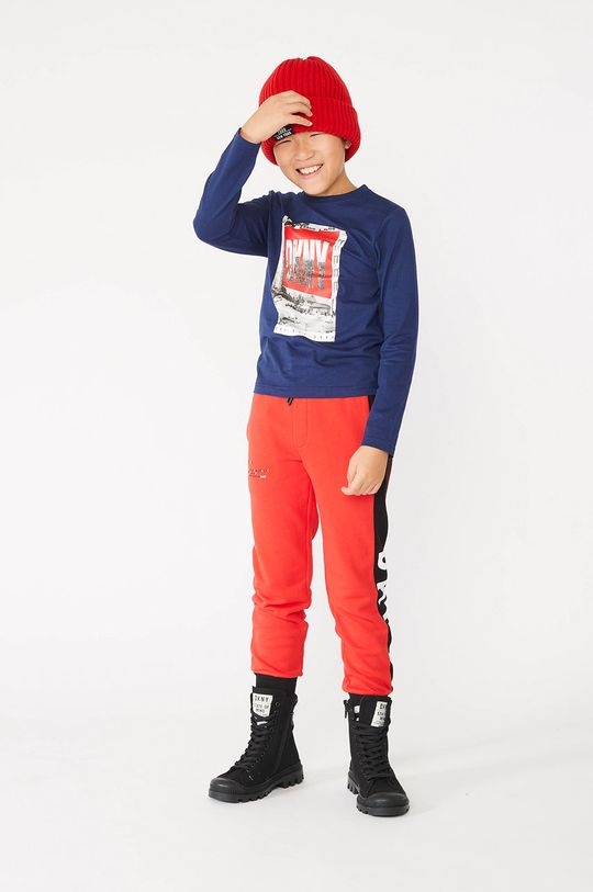 rosu Dkny - Pantaloni copii De băieți
