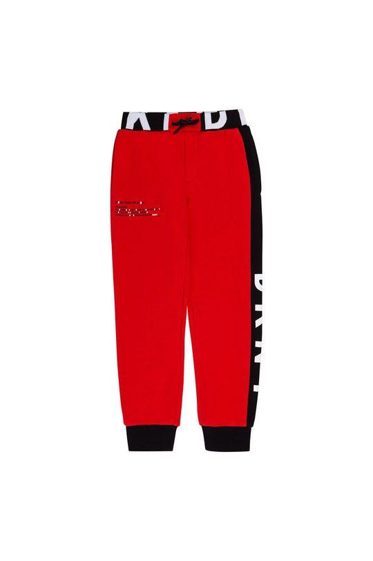 Dkny - Pantaloni copii rosu
