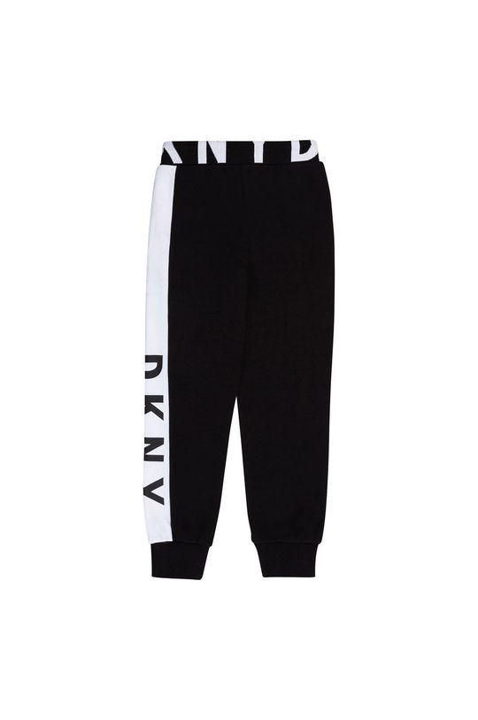Dkny - Detské nohavice čierna