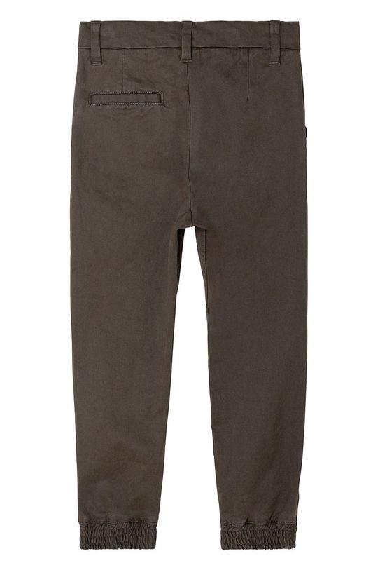 Karl Lagerfeld - Spodnie dziecięce brudny zielony