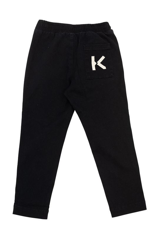 KENZO KIDS - Spodnie dziecięce czarny