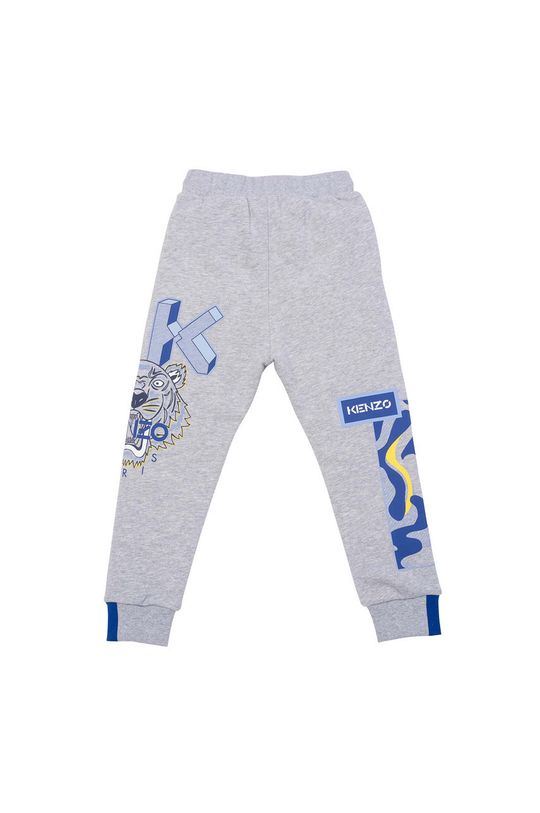 KENZO KIDS - Detské nohavice svetlosivá