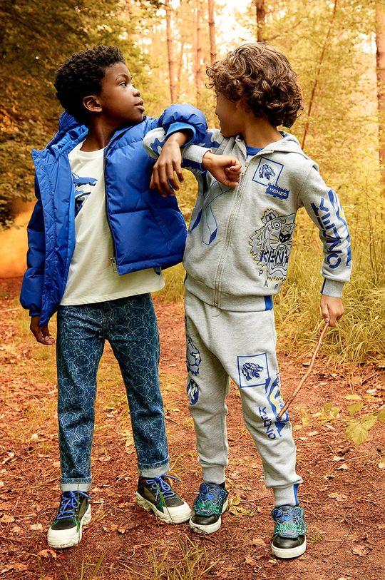 gri deschis KENZO KIDS - Pantaloni copii