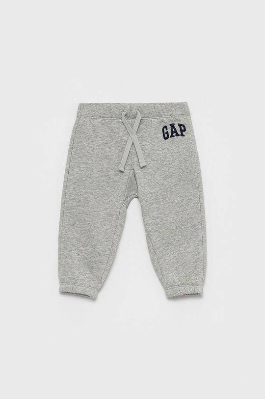 szary GAP - Spodnie niemowlęce Chłopięcy
