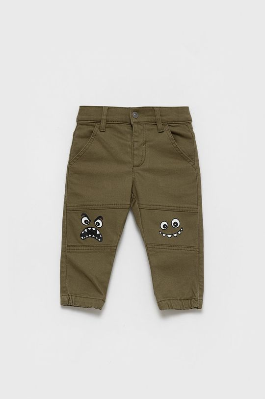 verde murdar United Colors of Benetton - Jeans copii Rock Biker De băieți