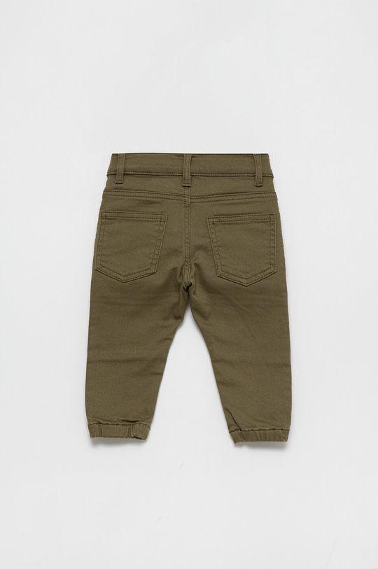 United Colors of Benetton - Jeans copii Rock Biker verde murdar