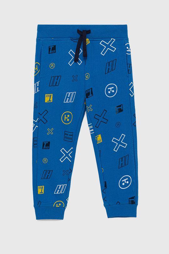 modrá United Colors of Benetton - Detské nohavice Chlapčenský