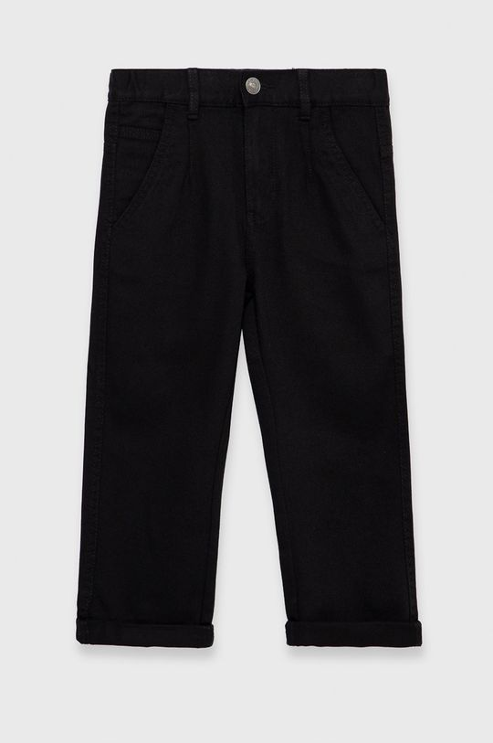 negru United Colors of Benetton - Pantaloni copii De băieți