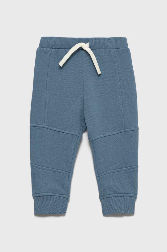 jasny niebieski United Colors of Benetton - Spodnie bawełniane dziecięce Chłopięcy