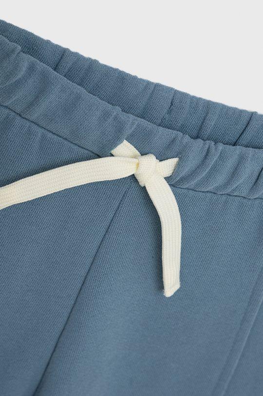 United Colors of Benetton - Spodnie bawełniane dziecięce jasny niebieski