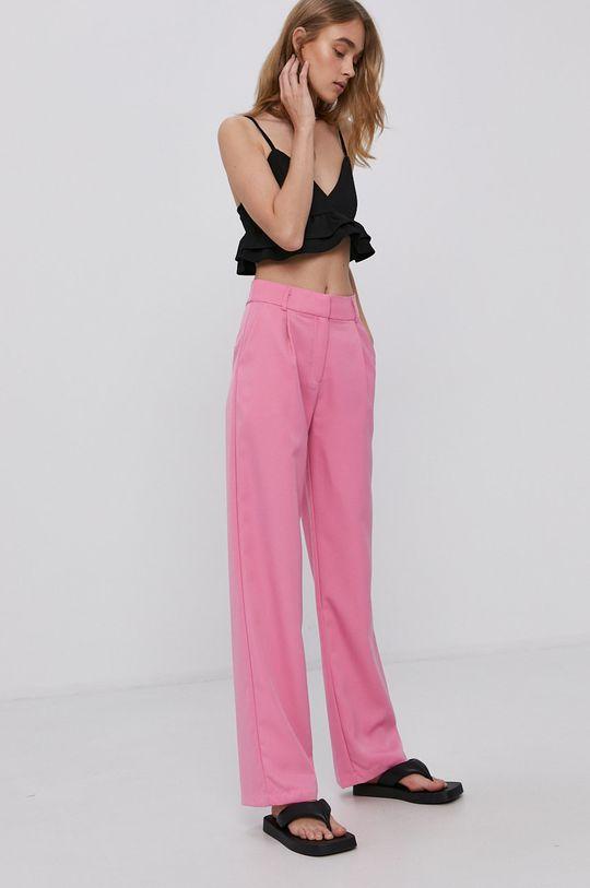 Y.A.S - Kalhoty ostrá růžová