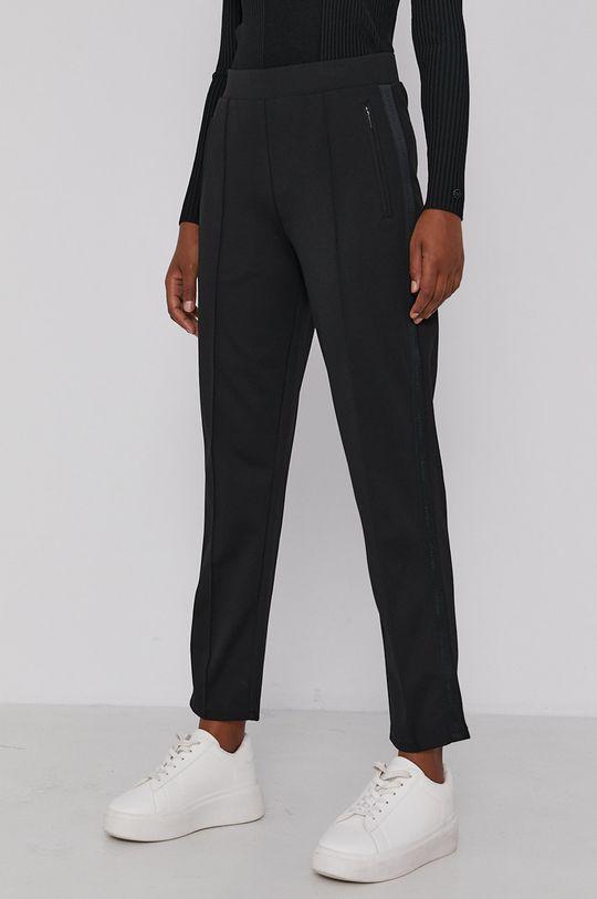 czarny Calvin Klein - Spodnie Damski