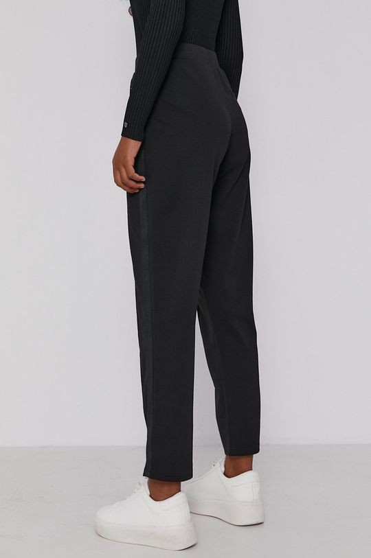 Calvin Klein - Spodnie 4 % Elastan, 77 % Poliester, 19 % Wiskoza