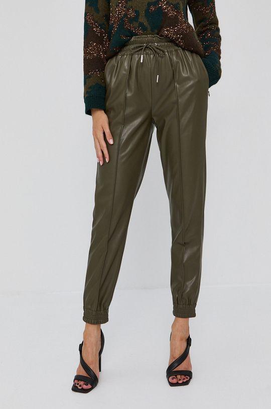 ciemny zielony Guess - Spodnie Damski