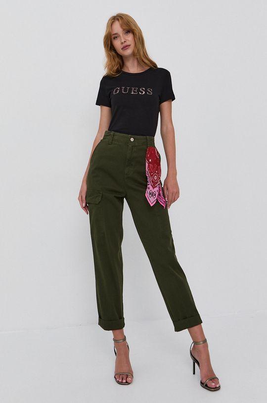 verde maro Guess - Pantaloni De femei