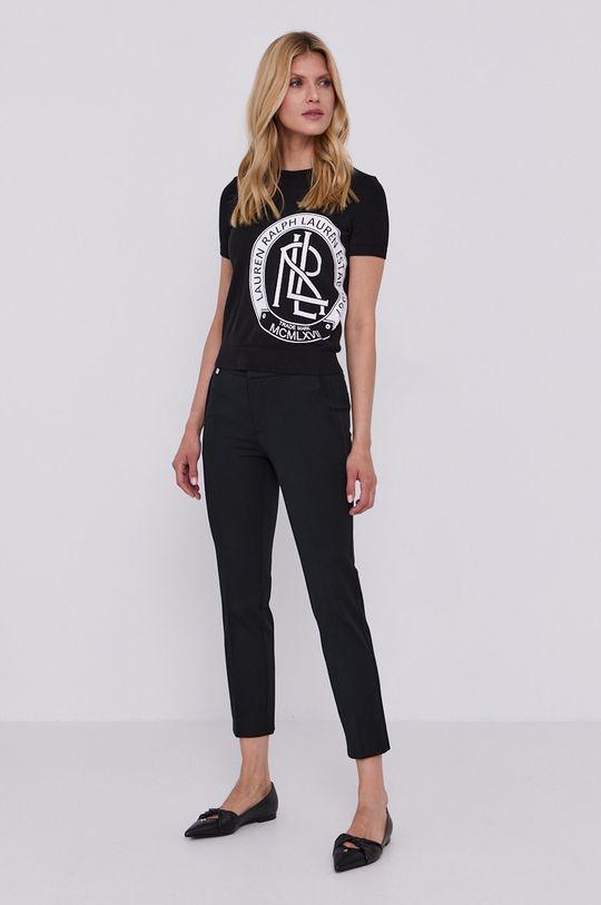 Lauren Ralph Lauren - Nohavice čierna