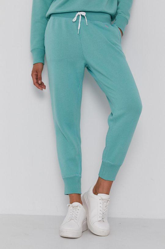 jasny turkusowy Polo Ralph Lauren - Spodnie Damski
