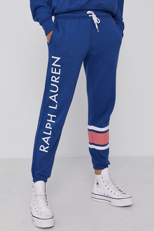 modrá Polo Ralph Lauren - Kalhoty Dámský