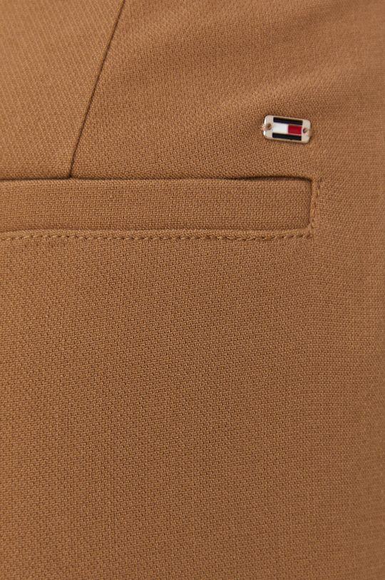 złoty brąz Tommy Hilfiger - Spodnie