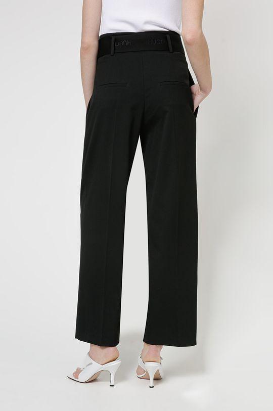 Hugo - Pantaloni  Material 1: 1% Elastan, 69% Poliester , 30% Viscoza Material 2: 100% Bumbac