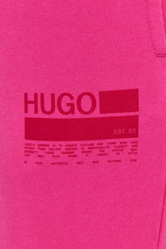 różowy Hugo - Spodnie