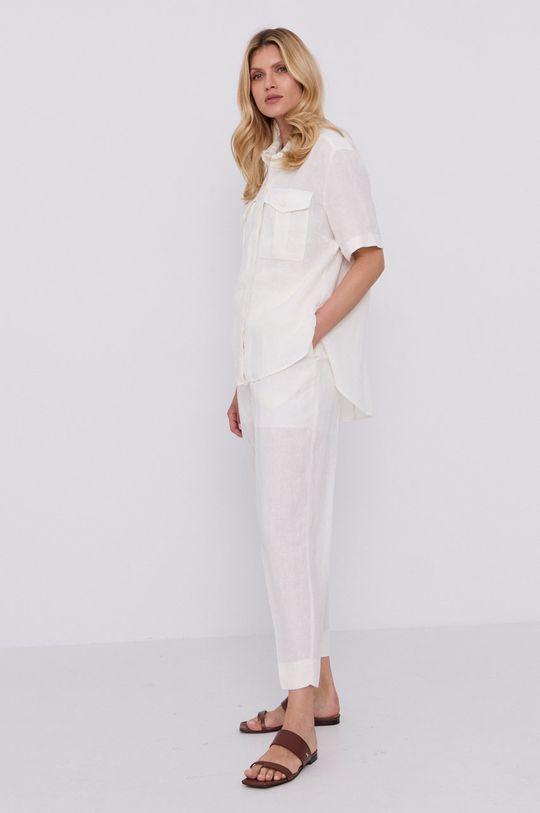 Boss - Pantaloni alb