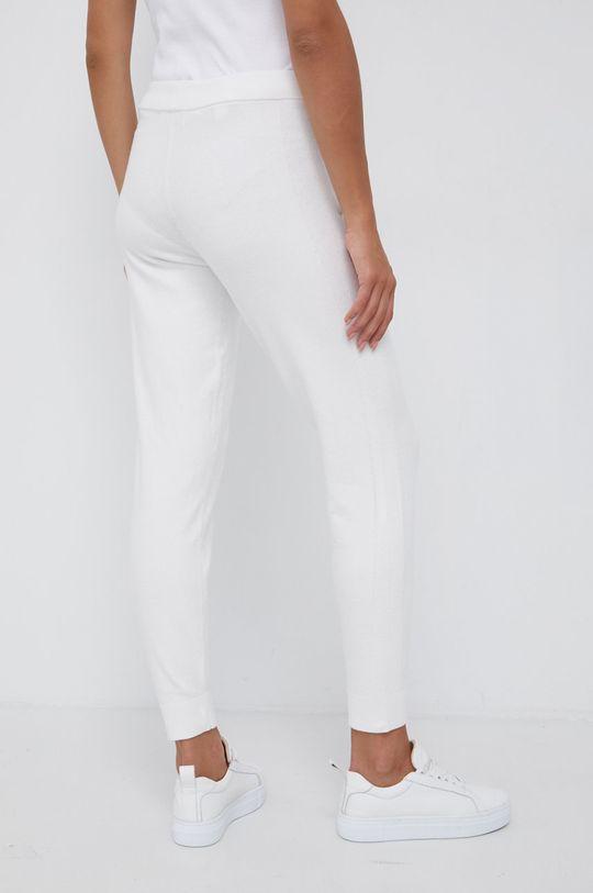 Calvin Klein - Spodnie z domieszką wełny 46 % Bawełna, 1 % Elastan, 48 % Poliamid, 5 % Wełna
