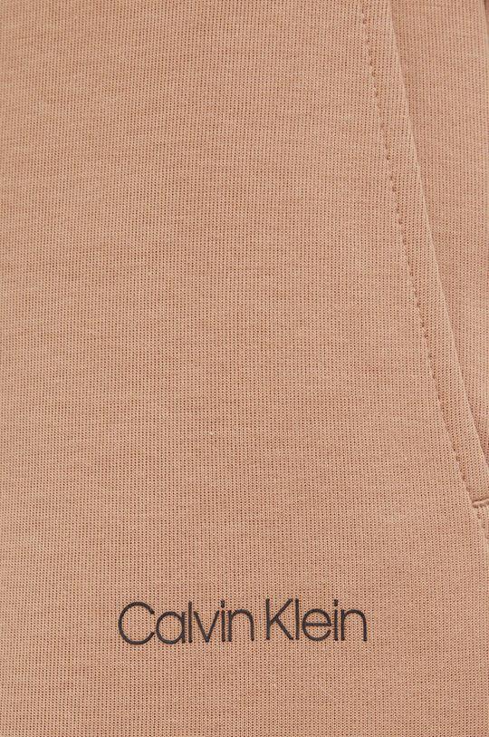 złoty brąz Calvin Klein - Spodnie