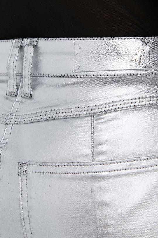stříbrná Patrizia Pepe - Kalhoty