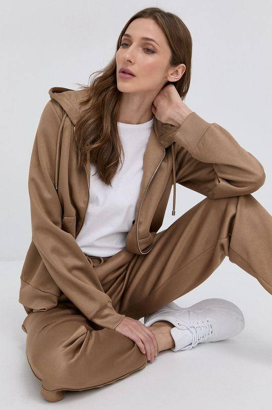 brązowy Patrizia Pepe - Spodnie