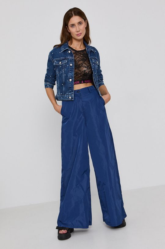 Patrizia Pepe - Kalhoty modrá