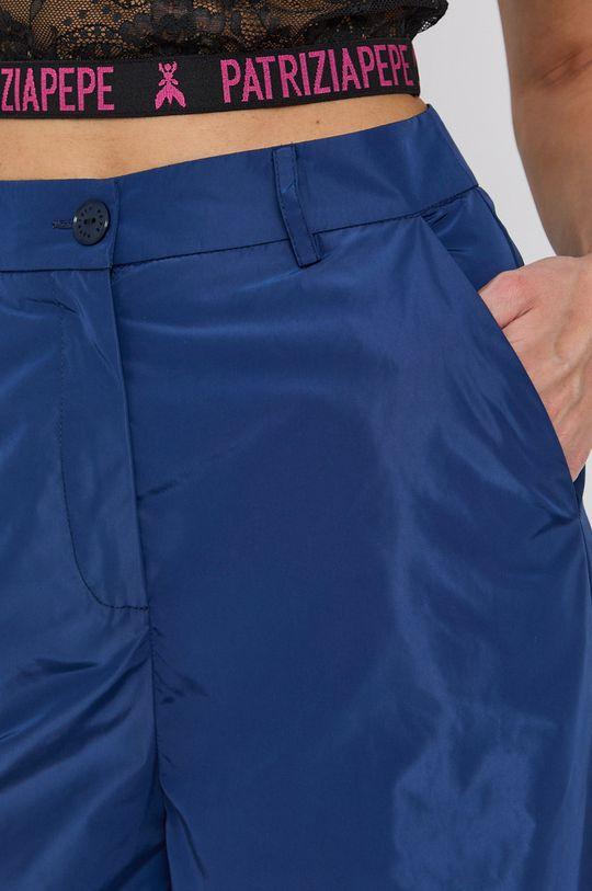 modrá Patrizia Pepe - Kalhoty