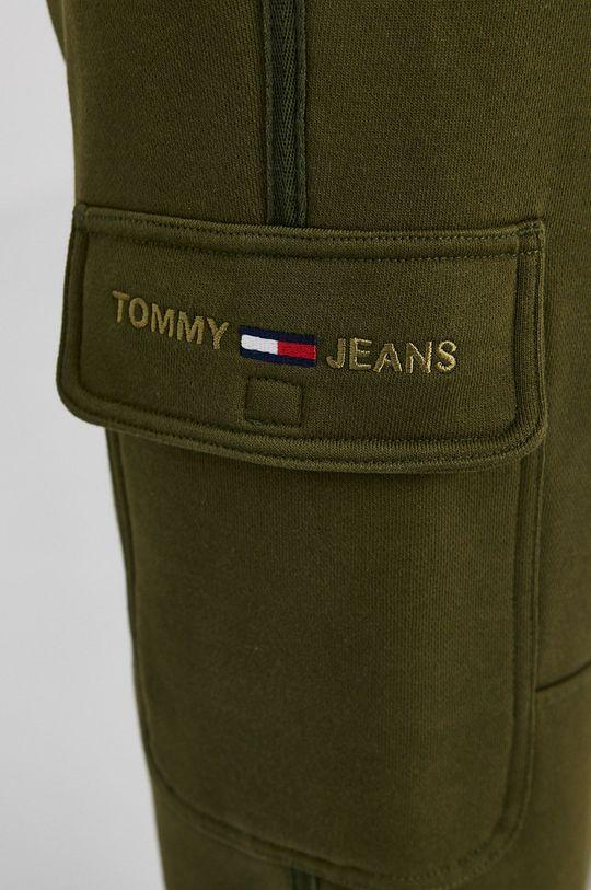 olivová Tommy Jeans - Kalhoty