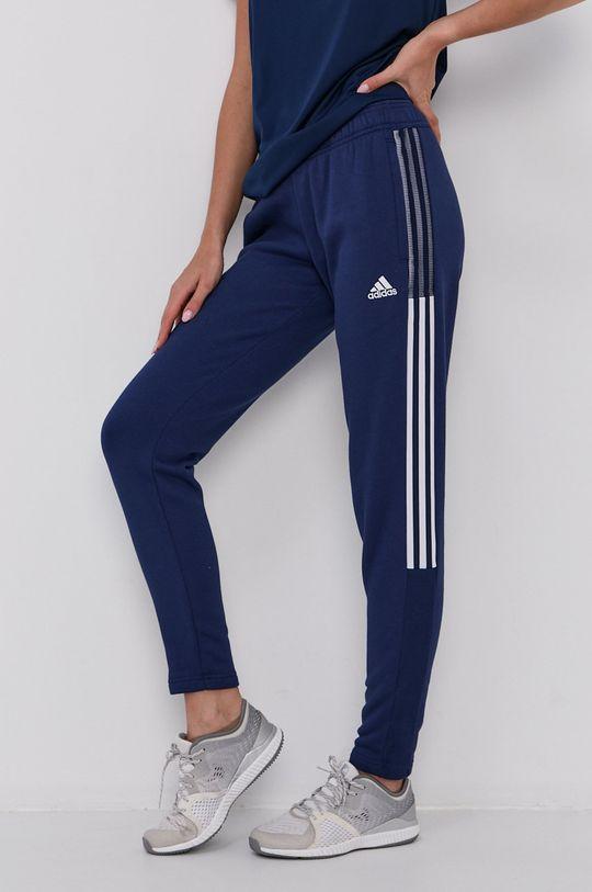 adidas Performance - Kalhoty námořnická modř