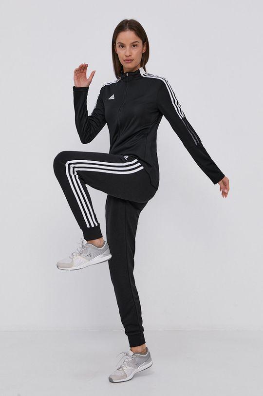 černá adidas - Kalhoty Dámský