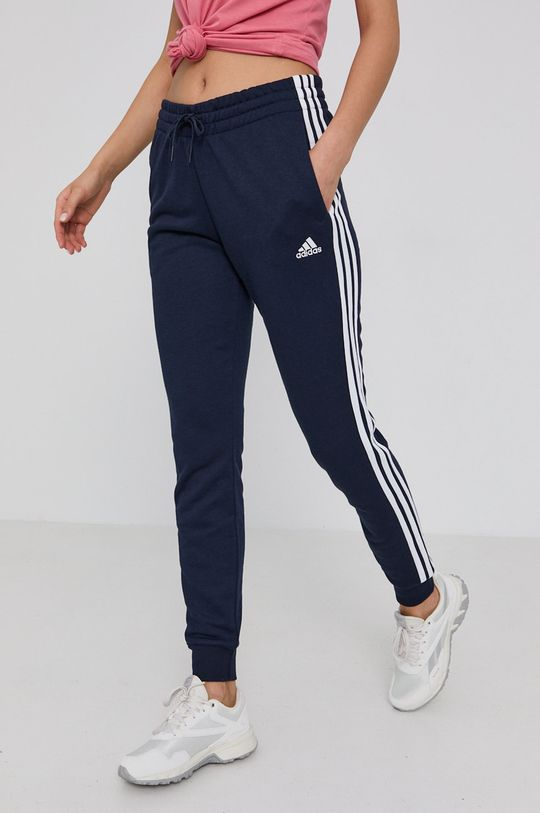 námořnická modř adidas - Kalhoty Dámský