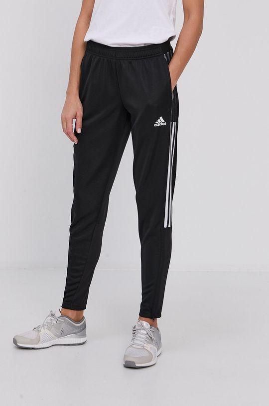 černá adidas Performance - Kalhoty Dámský